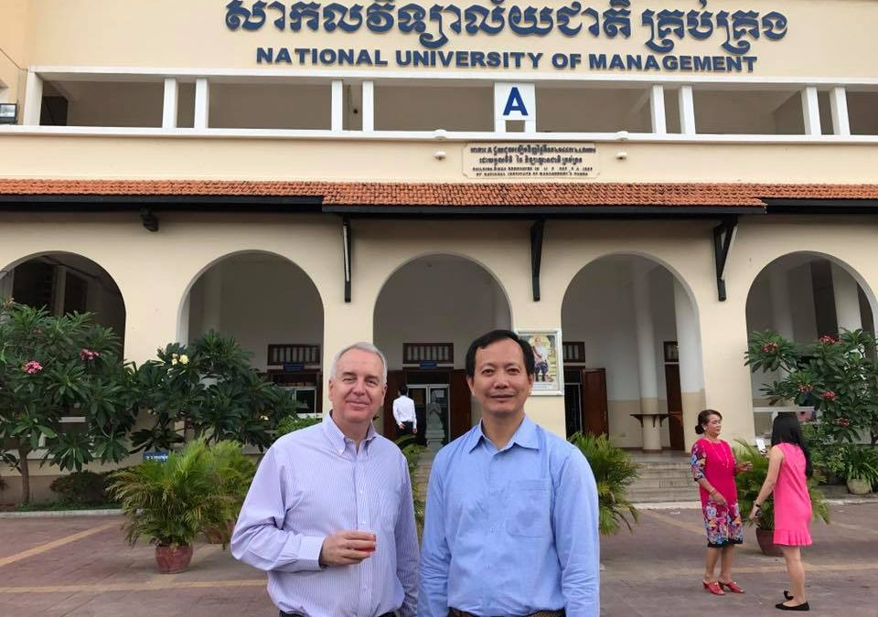 Getting to know our partners: National University of Management (NUM) in Cambodia