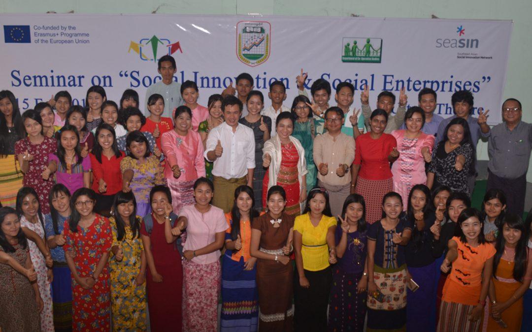 Seminar on Social Innovation and Social Enterprises