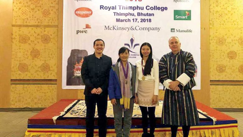 Cambodian duo's Eco-Plastic takes second in Bhutan startup challenge
