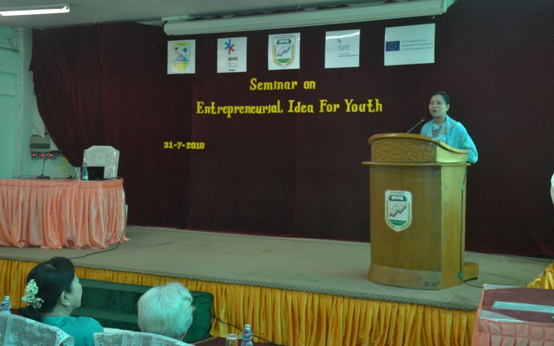 "Seminar on ""Entrepreneurial Idea for Youth"""