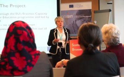 GCU Social Innovation in Brussels September 2018