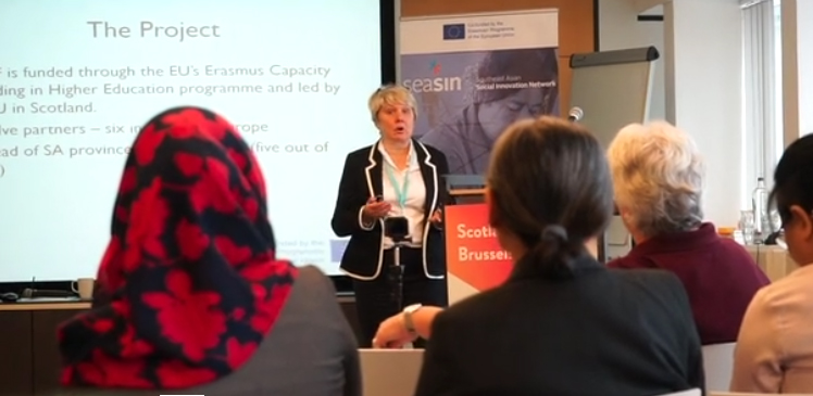 GCU Social Innovation in Brussels September 2018