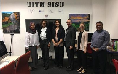 Ohio University delegates' benchmark visit to UiTM SISU
