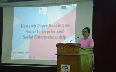 TCU SISU's Research Paper Reading on Social Entrepreneur and Social Entrepreneurship
