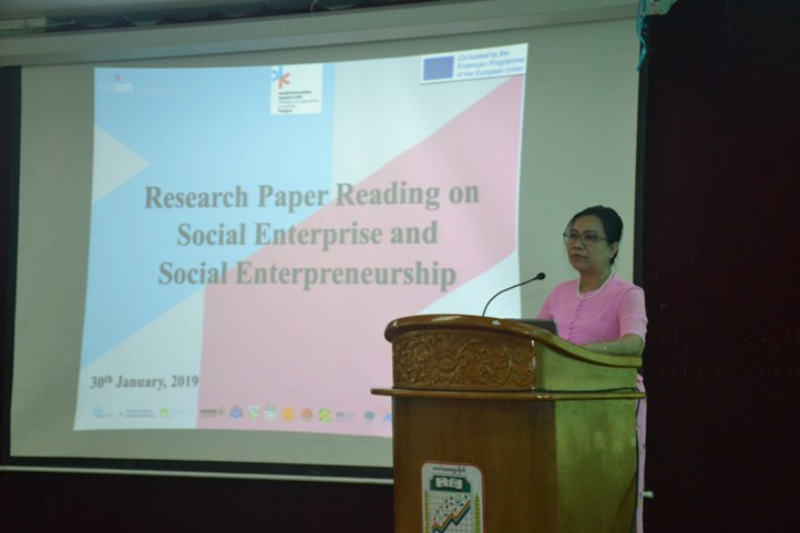 TCU SISU's Research Paper Reading on Social Entrepreneur and Social Entrepreneurship