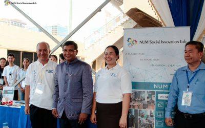 iLab Activity – Social Innovation Lab Booth at Cambodia STEM 2019