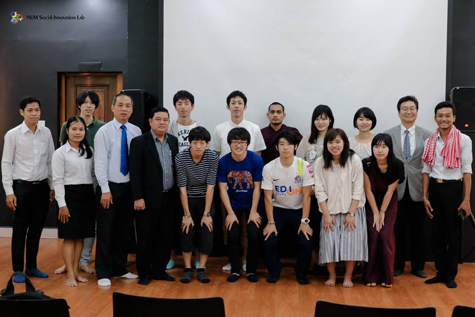 iLab Visit – Visit of Students from Hiroshima University