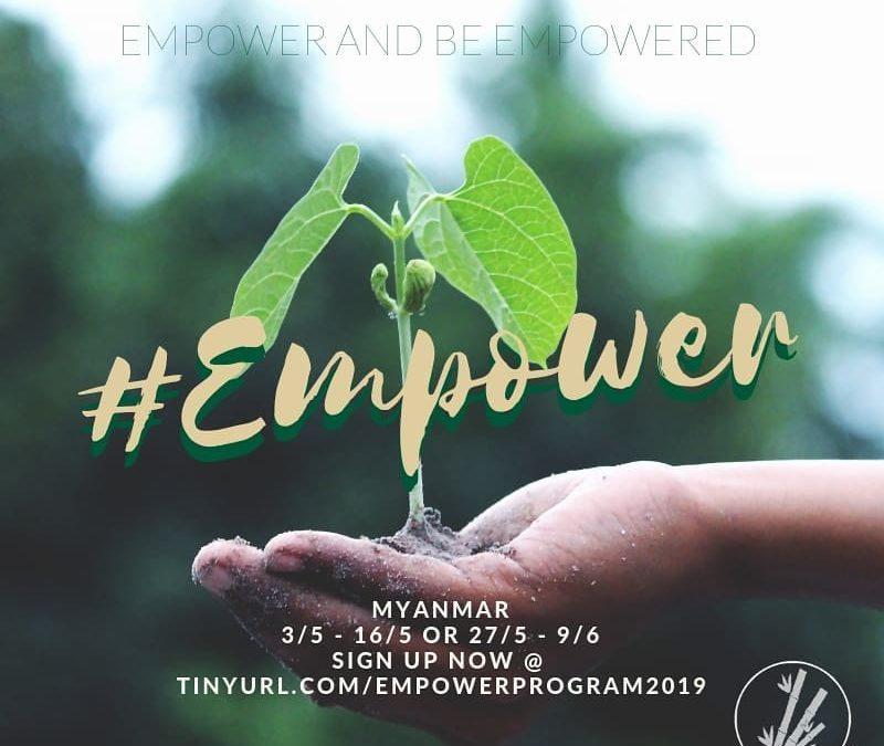 Bamboo Builder Empower Program 2019