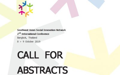 Southeast Asian Social Innovation Network  2nd International Conference Bangkok, Thailand 8 – 9 October 2019
