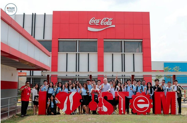 STEM Tour at Coca Cola Factory