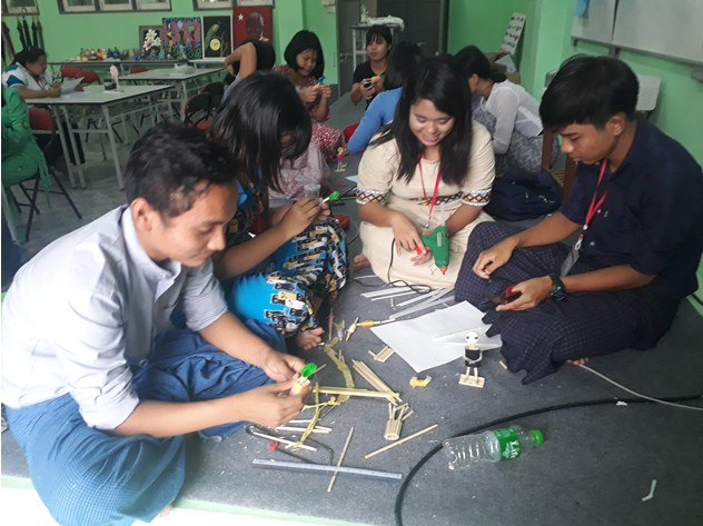 2nd Basic Painting and Recycle Art Training Workshop